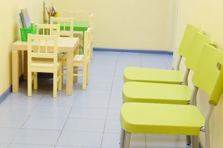 pediatrist: Children zone in a paediatrician clinic Stock Photo