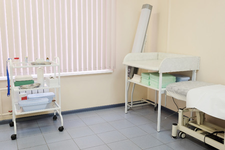 swaddling clothes: Interior of a pediatrician office