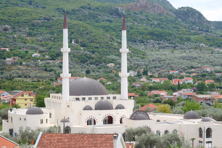 sacral: Mosque in vicinities of Old Bar, Montenegro Stock Photo
