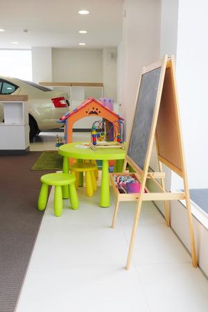 pedagogical: Children zone in a shop