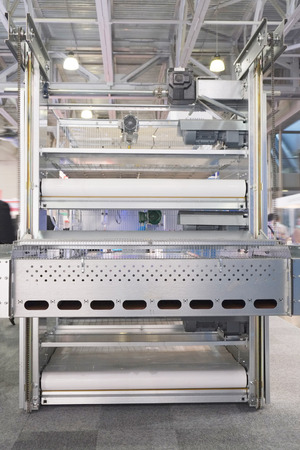 automatic: the image of automatic packing conveyor