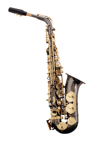 wind instrument: classical music wind instrument saxophone Stock Photo