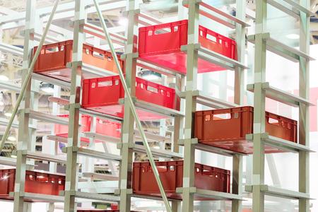cinta transportadora: La imagen del equipo de la industria de alimentos