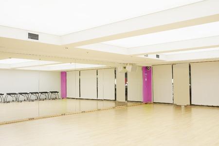 Das Bild des Innenraums des Tanzstudios