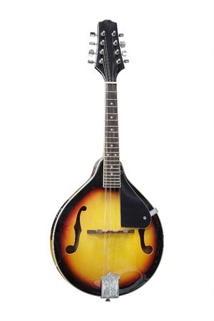 mandolin: mandolin isolated under the white background Stock Photo