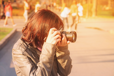 take a history: The image of a photographer