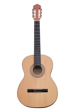 Het beeld van een gitaar Stockfoto