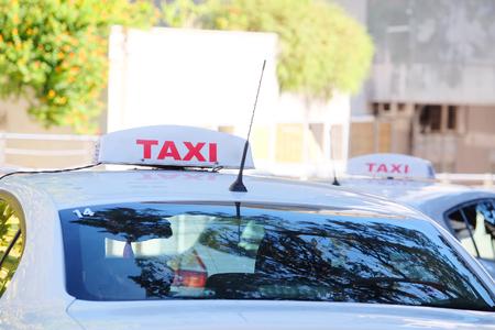 montenegro: Taxi in Tivat, Montenegro