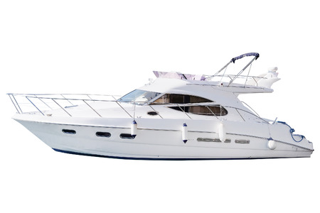 bateau: L'image d'un bateau à moteur de passagers