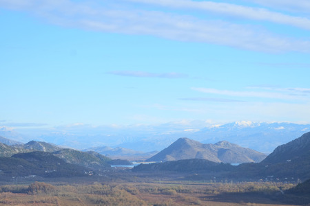 rockclimbing: Mountains landscape Stock Photo