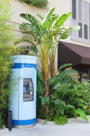 commercial tree service: The image of a cash machine