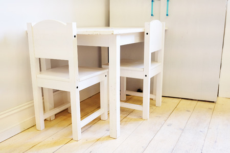 small table: Small table and two chairs for little kids