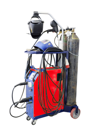 blowpipe: image of a welding machine Stock Photo