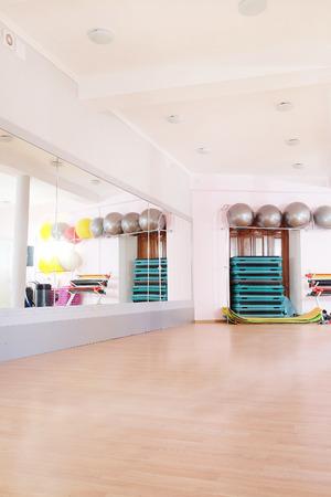 Interieur van een moderne fitness zaal