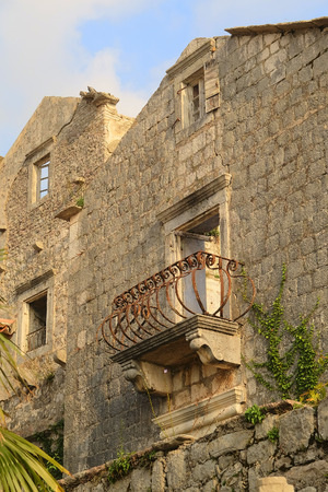 kotor: Ruins of an old house in Kotor, Montenegro