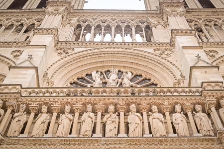notre: The image of Notre Dame de Paris Stock Photo