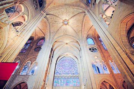 love dome: Interior of Notre Dame de Paris