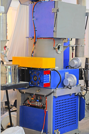 enginery: Part of an industrial packing machine
