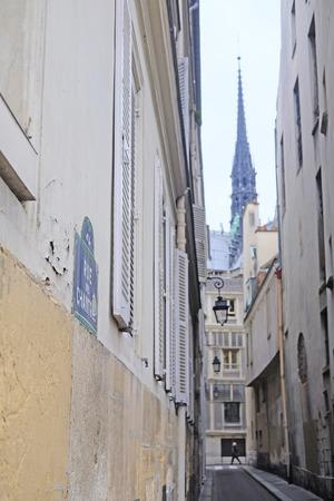carriageway: the image of Paris street, Paris, France