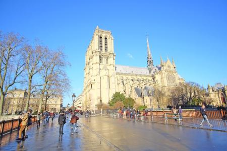 simbols: Notre Dame de Paris, one of the Paris simbols