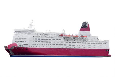 scandinavian peninsula: Stockholm, Sweden - March, 16, 2016: cruise ship in Stockholm, Sweden Editorial