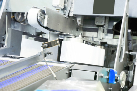 automated tooling: The image of a baking machine