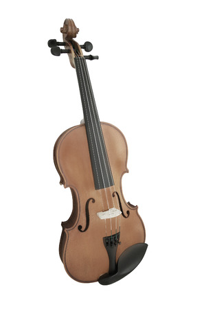 fiddles: violin under the white background Stock Photo