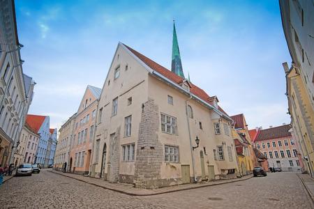 tallin: Tallin, Estonia - April, 6, 2016: old town of Tallin, Estonia Editorial