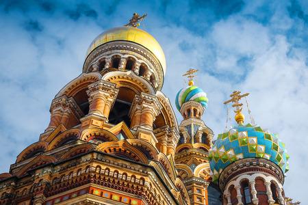 savior: church of savior on Spilled Blood in St. Petersburg, Russia Editorial