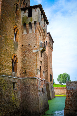 ducale: MANTUA, ITALY - JULY, 23, 2016: Palazzo Ducale in Mantua, Italy