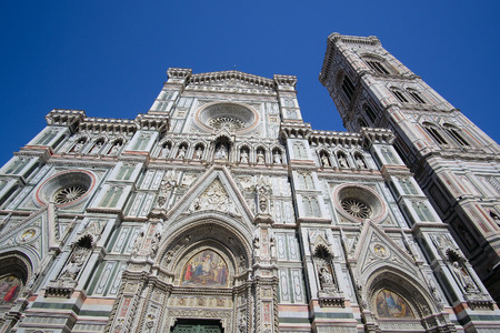 santa maria del fiore: Florence, Italy, June, 25, 2016: cathedral of Santa Maria del Fiore in Florence, Italy