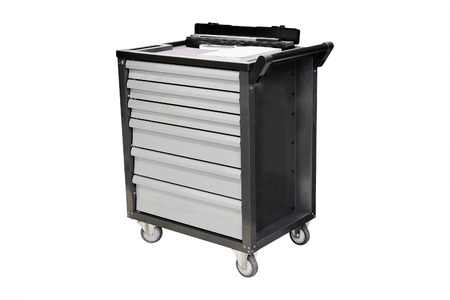 flatnose: The image of a tool organizer cart Stock Photo