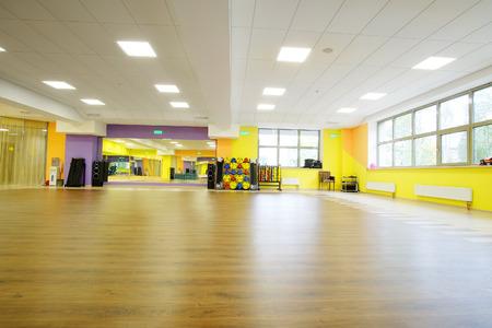Interior of a modern dancing hall