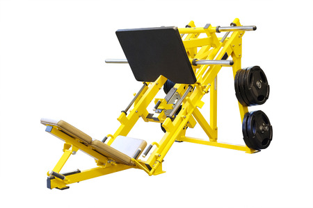 The image of fitness machine isolated