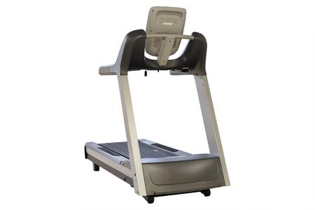 The image of treadmill isolated Stock Photo
