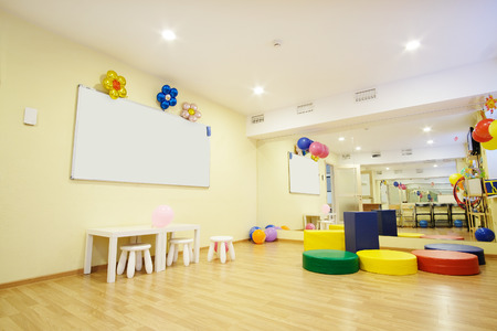Interior of a childrens room