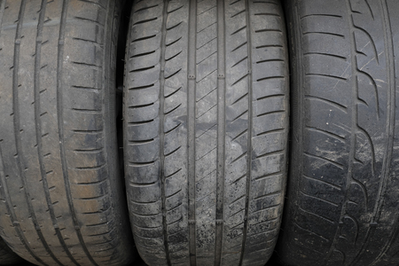 ply: Background with the image of tire protector Stock Photo