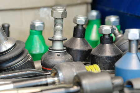 sockets: Close up cars ball sockets
