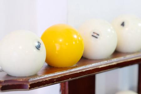 Set of a billiard bals