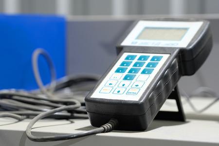 Dispositivo para el diagnóstico de un coche electrónica Foto de archivo