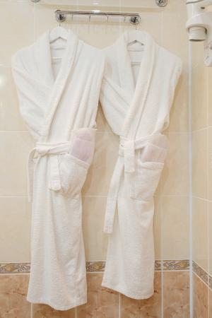 housecoat: The image of female bathrobes