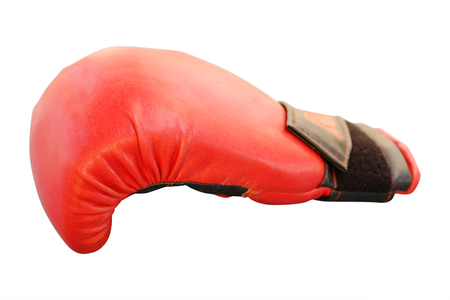 The image of boxing glove Stock Photo