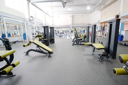 Interieur van een fitnesszaal