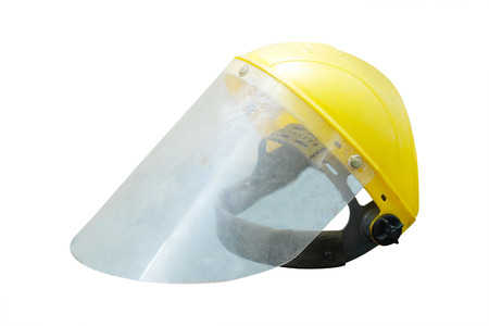 welders helmet  isolated