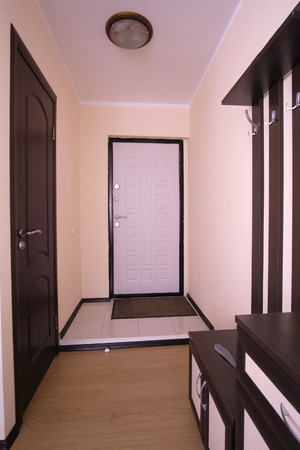 entryway: entryway in a hotel