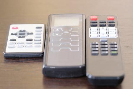remote controls: remote controls close up