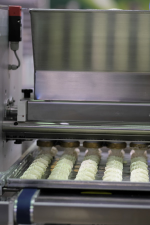 semifinished: biscuit  production in a bakery