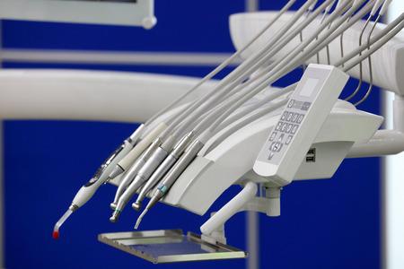Set of dental equipment close up