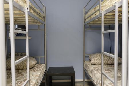 college dorm: Interior of a hostel