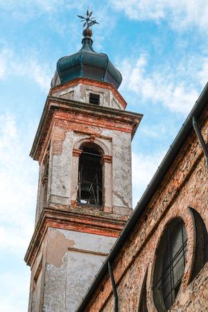 Monselice, Italia - June, 27, 2017: church in a center of Monselice, North Italia Stock Photo